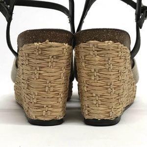 Donald J. Pliner Shoes - DONALD PLINER Hand Made Spain WEDGE Sandals 6.5